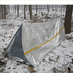 Image is loading MG-Emergency-Tent-Tube-Survival-C&ing-Shelter-Sleeping- & MG Emergency Tent Tube Survival Camping Shelter Sleeping Bag ...