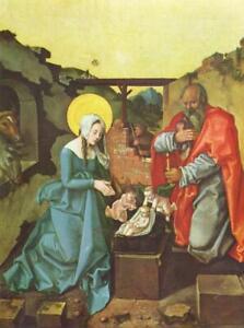 "stunning art 24x36 oil painting  handpainted on canvas ""nativity"""