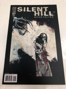 IDW-Silent-Hill-Dead-Alive-Issue-1-Comic-Book-Free-Shipping-Variant-Black