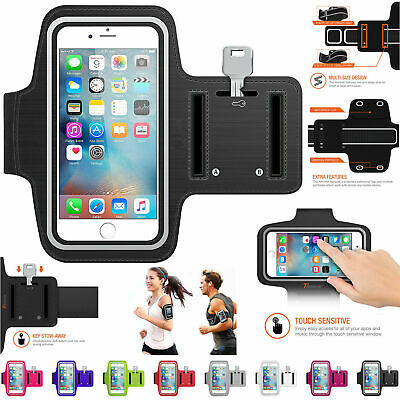 Sport Phone Armband Case Adjustable Breathable Holder For All Mobile Phones Gute QualitäT