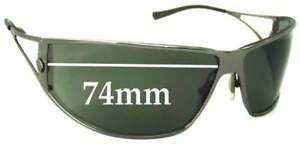 f3d41941498b SFx Replacement Sunglass Lenses fits Versace MOD 2040 - 74mm Wide | eBay