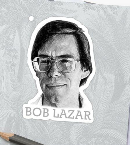 Bob Lazar Découpées Autocollant Décalque Art Area 51 UFO/'s Alien Conspiracy s4 Element 115