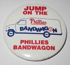 1980 Baseball Pin/Coin Philadelphia Phillies World Series Jump On Bandwagon