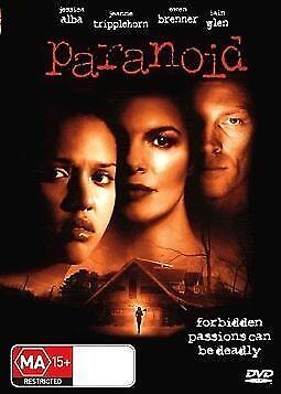 1 of 1 - Paranoid DVD Jessica Alba Jeanne Tripplehorn Iain Glen Mischa Barton