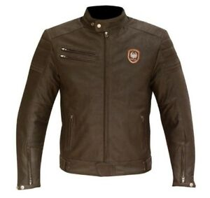 MERLIN-ALTON-MEN-039-S-LEATHER-MOTORCYCLE-JACKET-BROWN-REMOVABLE-THERMAL-65-140