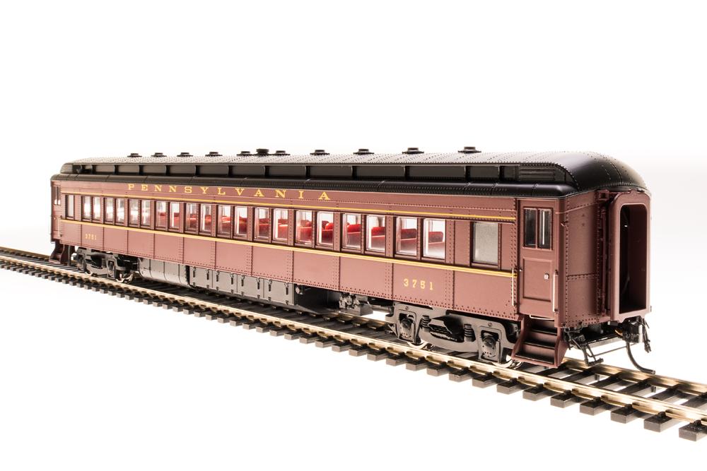 BLI 4961 PRR P70R, Tuscan rosso w/ Buff Lettering & Stripes, 4-Car Set, HO