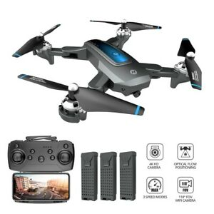 Holy Stone HS240 FPV Drones with 4K / 720P Video Camera Foldable Altitude Hold
