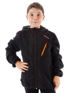 Brunotti-chaqueta-polar-chaqueta-funcional-para-Exterior-Tarquinia-Negro