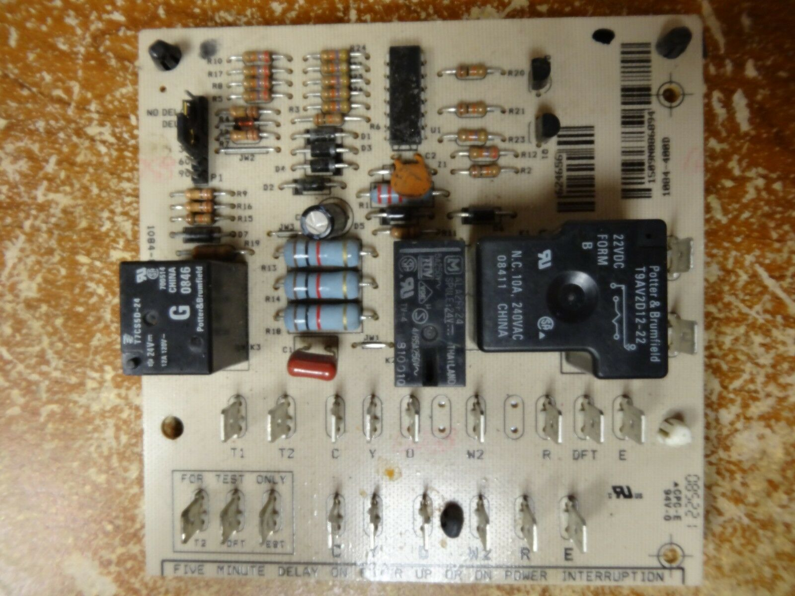 Nordyne Intertherm Miller Defrost Control Circuit Board 624656 Ebay Com Pth Used In Amana
