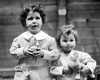 8x10 Photo: Little Orphan Survivors Of Rms Titanic Ship Disaster, 1912