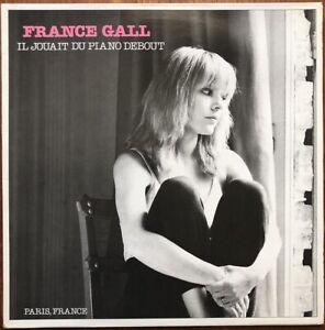 FRANCE GALL Il jouait du piano debout 1980 LP Atlantic Michel Berger