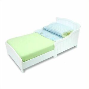 Nantucket Toddler Cot Bed White Wood Kidkraft 86621