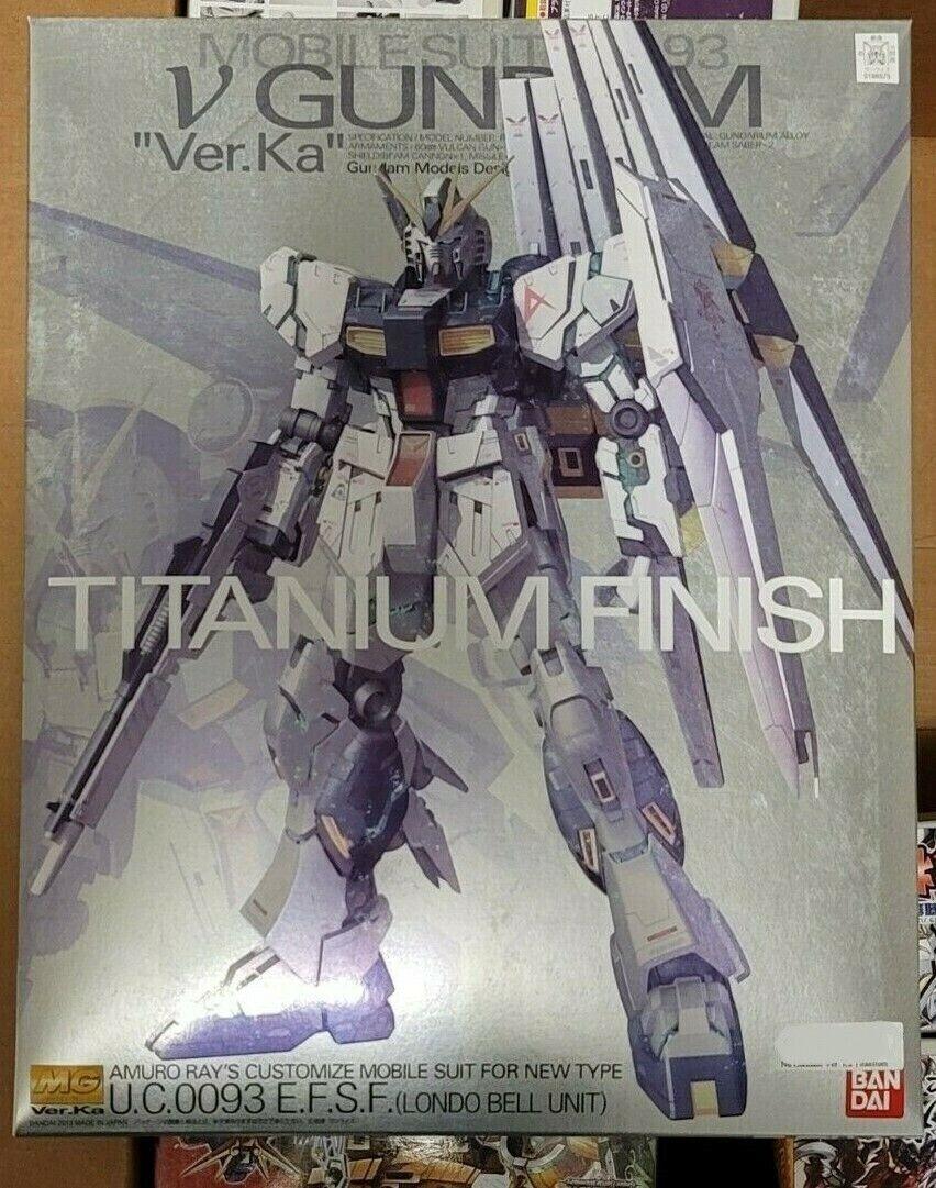 U.C Ka Gundam Model Kit 1//100 MG RX-93 Nu Gundam Ver 0093 BANDAI V Gundam