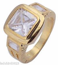 Ring Gr 66 Fingerring Gold gefüllt Herrenring Silberring Goldring Siegelring