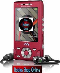 Sony-Ericsson-W995-Walkman-Rot-Ohne-Simlock-WLAN-3G-GPS-8-1MP-RADIO-GUT-OVP