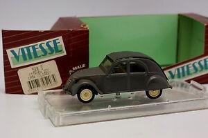 Vitesse-1-43-Citroen-2CV-1954-Grise