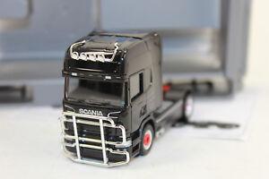 Herpa 303774  Scania R 2013 TL Zugmaschine mit Rammschutz und Lampenbügel 1:87