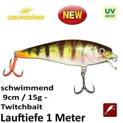 20cm Hybrida B-3 Twitchbait 80gr verschiedene Farben Wobbler neu!