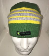 MCJ099399142 John Deere Childs Yellow /& Green Knitted Beanie Hat with Pom Pom