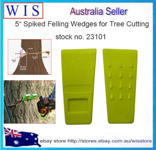 Logging Tools Spiked Tree Felling Wedges for Tree Cutting,Plastic Felling Wedge