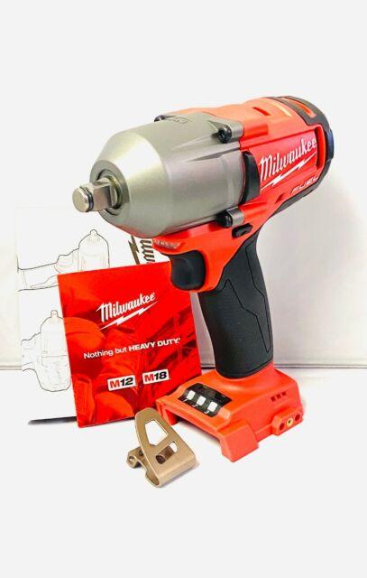 "New Milwaukee Fuel M18 2861-20 18V Li-ion 1//2/"" MidTorque Brushless Impact Wrench"