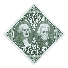 USPS New $5 Washington and Jackson Stamp Sheet of 20