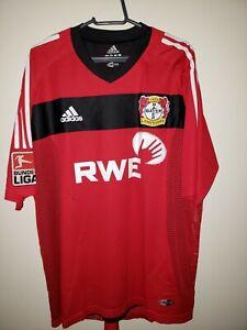 Details about Football shirt Bayer 04 Leverkusen, Match Worn!