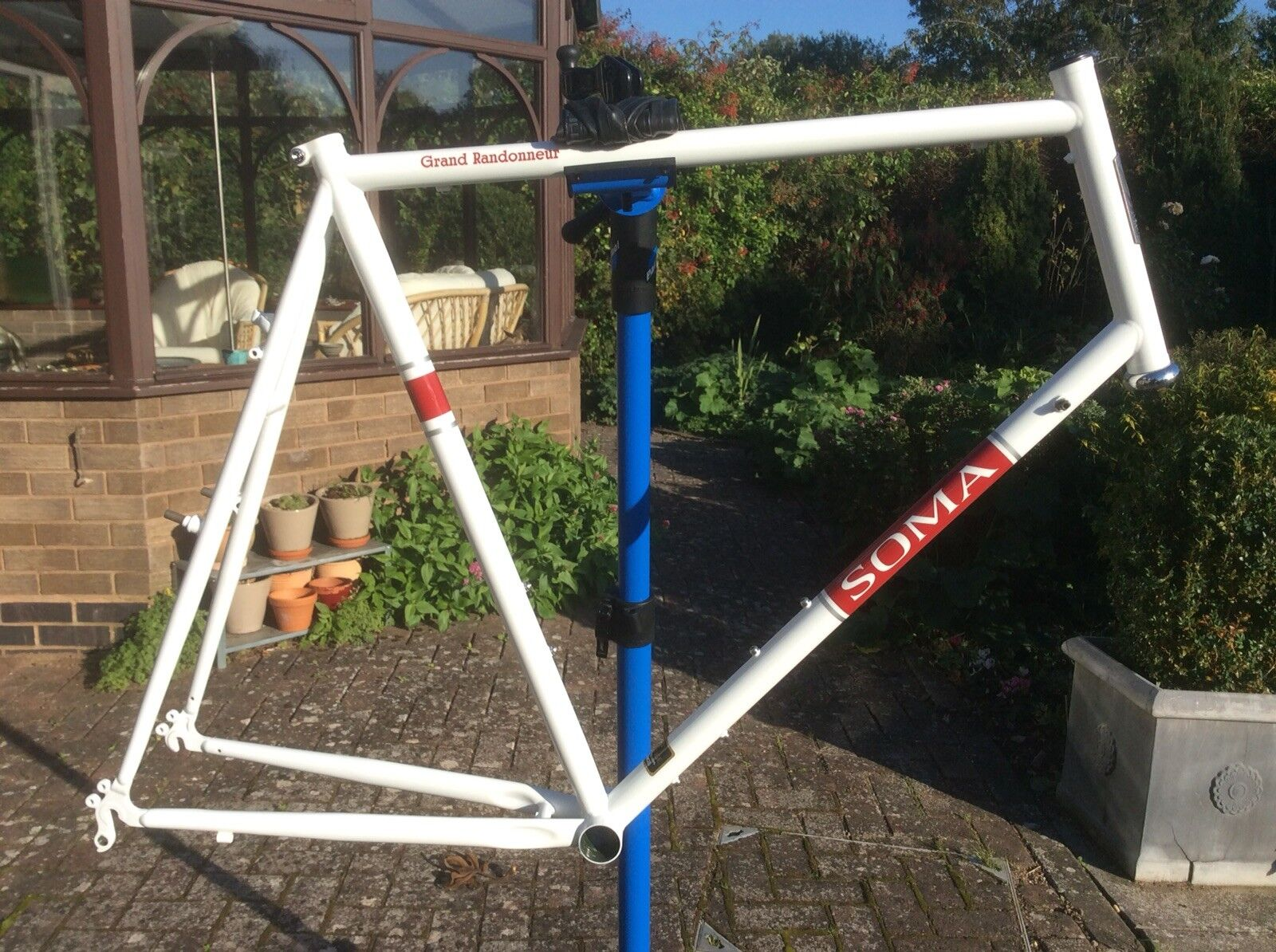 Soma Grand Randonneur Road Bike Bicycle Frameset Unused Size 65 Tange headset