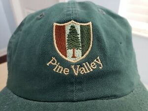 Pine Valley Golf Club Imperial Hat Cap Green Members Only ...