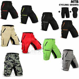 MTB-Cycling-Short-Off-Road-Bicycle-With-CoolMax-Padded-Liner-Shorts-Dimex-Sports