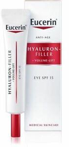 Eucerin-Hyaluron-Filler-Volume-Lift-Eye-Cream-SPF15-Free-Shipping