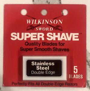 Vintage-Wilkinson-Sword-Stainless-Steel-Shaving-Razor-Blades-5-Blades