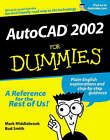 AutoCAD 2002 For Dummies by Bud E. Smith, Mark Middlebrook (Paperback, 2001)