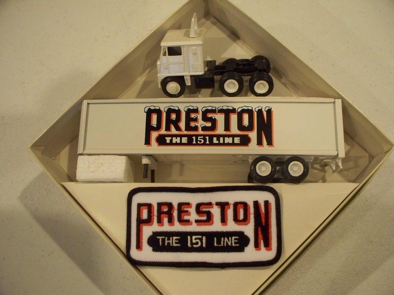 mas preferencial Preston camiones el 151 151 151 línea hierba 1980 remolque de tractor Winross modelo de empresa  el mas reciente