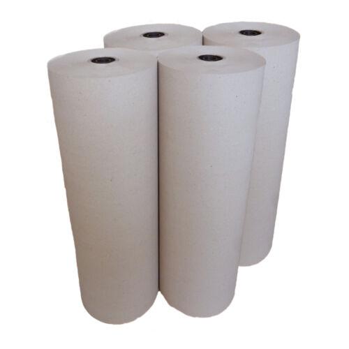 75 cm x 167 lfm 15 kg//Rolle 120g//m²  Packpapier 4 Rollen Schrenzpapier