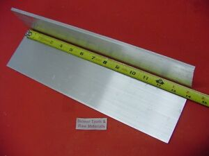"2 Pieces 3/8"" X 5"" ALUMINUM 6061 FLAT BAR 14"" long .375"" Plate Mill Stock T6511"