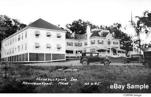 1920 30 S Kennebunkport Inn Maine Viejo Maine Grand Hotel Negativo Original 445 Ebay