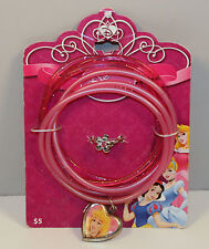 Princess Aurora Kids Ring & Locket Pink Jewelry Set Disney Sleeping Beauty