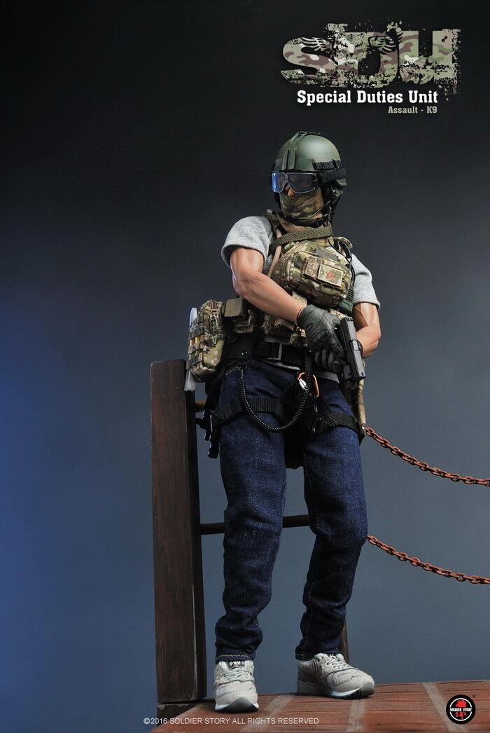 1 6 SoldierStory SS097 SDU Special Duties Unit Assaulter-K9 Daniel Wu