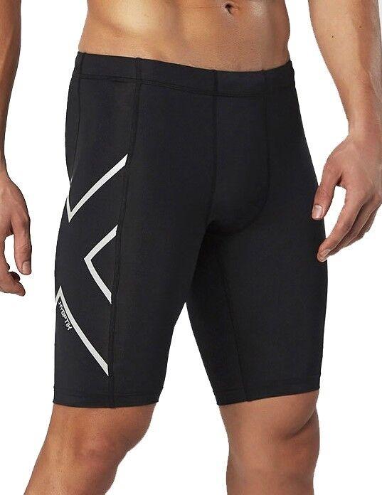 2xu Hyoptik Homme Compression Short Collants-noir