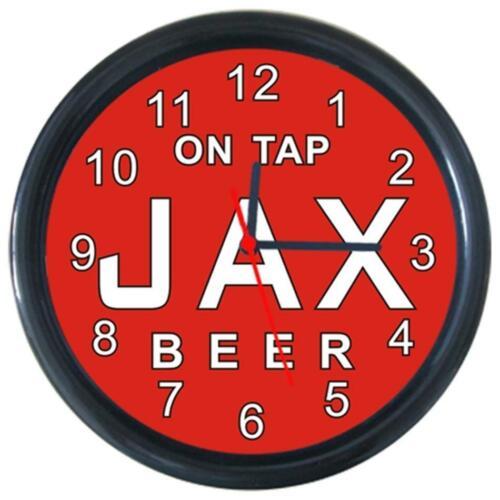 On Tap Jax Pattern #1 Beverage Beer Bar Pub Club Round Wall Clock