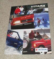 Suzuki Vitara 1.6 Brochure 1998