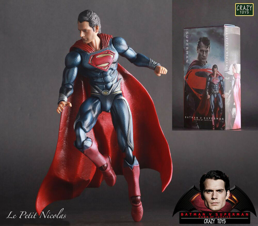 Crazy Toys Batman v Superman L'Aube de la justice 10  superman figurine statue