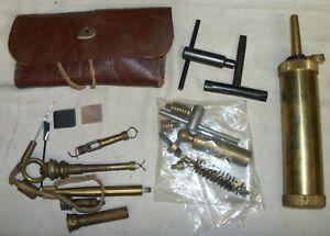 Gunsmiths junk drawer of misc muzzle loader accessories
