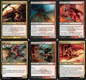 Details about Rakdos' Rampage Deck - Exava - Cryptborn Horror - MTG Magic  Gathering 60 cards