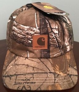 f10c1dca717 Image is loading New-Carhartt-Camo-Ear-Flap-Insulated-RealTree-Hunting-