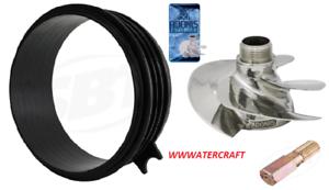 SeaDoo SPARK ADONIS Impeller Wear Ring FREE Tool Kit 2 UP 3 UP 14//18 HIGH PERF.