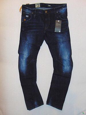 G-Star Raw 51030 ARC 3D Slim Dark Aged W36 L34 Mens Devon Stretch Denim Jeans