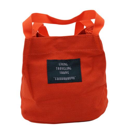 Women Fashion Simple Canvas Handbag Casual Cross Bag Body Messenger Bag WE