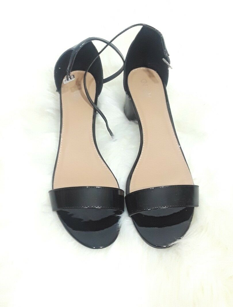 Abound Ankle Patent Leather Ankle Abound Strap Sandals Size 13 b7f834